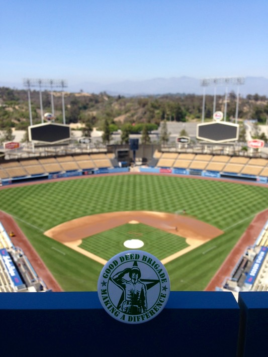 Good Deed Brigade - Dodger Stadium - Los Angeles, California