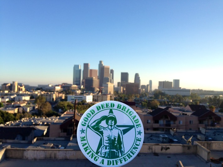 Good Deed Brigade Scenic View - Downtown - Los Angeles, California